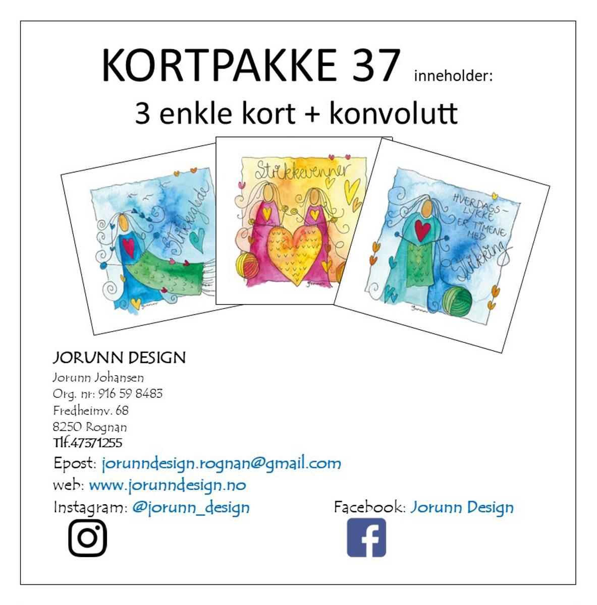 Kortpakke 37