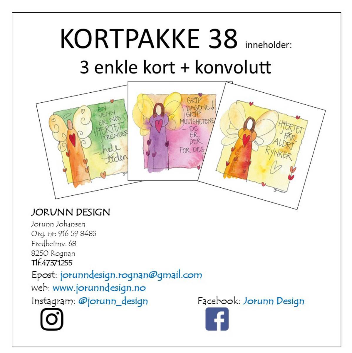 Kortpakke 38